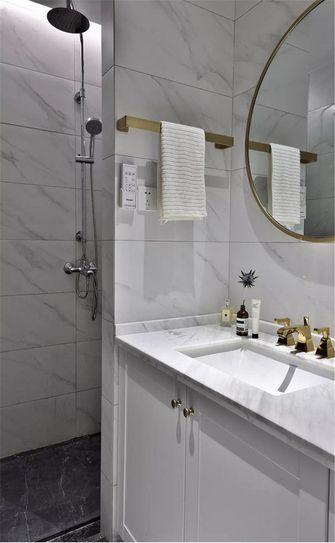 90平米公寓中式风格卫生间图