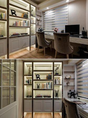 120平米三室两厅欧式风格影音室设计图