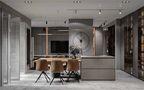 140平米三室三厅混搭风格餐厅装修效果图