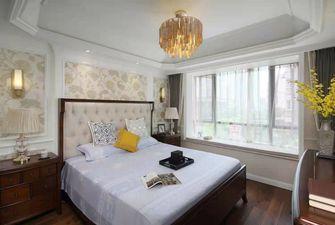 110平米三室两厅美式风格卧室图片
