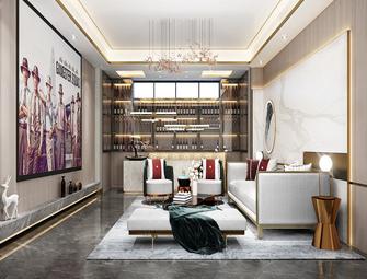 15-20万140平米别墅中式风格影音室装修图片大全