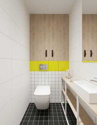 60平米一室一厅现代简约风格卫生间图
