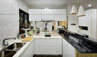140平米三室三厅中式风格厨房设计图