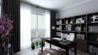 100平米三室两厅现代简约风格书房欣赏图