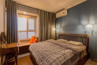 50平米小户型英伦风格卧室图片大全