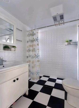 90平米三室一厅宜家风格卫生间浴室柜装修图片大全