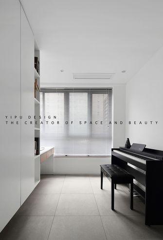 经济型90平米三室两厅现代简约风格书房图
