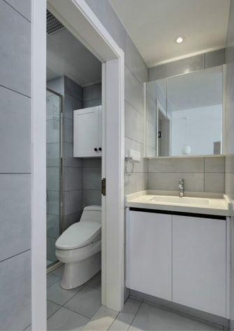 80平米公寓日式风格卫生间欣赏图