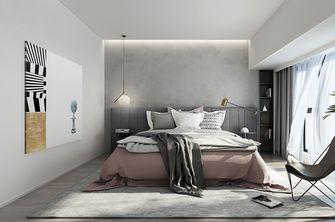110平米三室两厅现代简约风格卧室背景墙装修案例