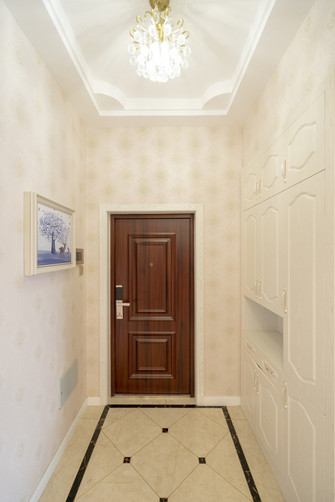 140平米复式欧式风格玄关图片