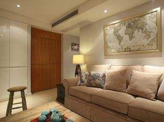 70平米一室两厅美式风格客厅图