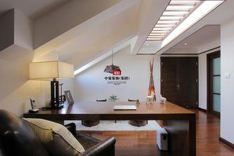 140平米三室两厅东南亚风格阁楼效果图
