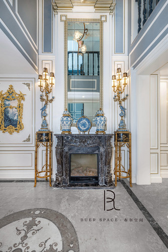 140平米别墅欧式风格玄关图片大全