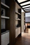 90平米三室两厅混搭风格衣帽间鞋柜装修效果图