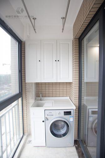 110平米三室两厅美式风格阳台装修图片大全
