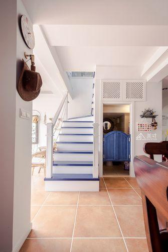 140平米别墅田园风格楼梯间装修案例
