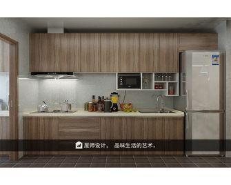 130平米三英伦风格厨房设计图