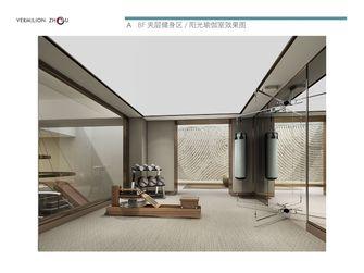 140平米复式现代简约风格健身室装修图片大全