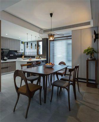 140平米三室两厅新古典风格餐厅图片