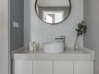 110平米三室两厅北欧风格卫生间浴室柜装修案例