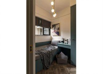 80平米三室一厅新古典风格卧室图