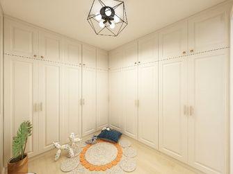 60平米三室一厅北欧风格衣帽间图