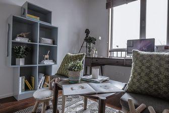 120平米四室一厅现代简约风格书房图