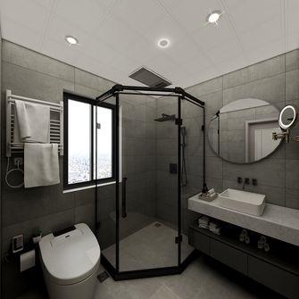 130平米三室一厅北欧风格卫生间图