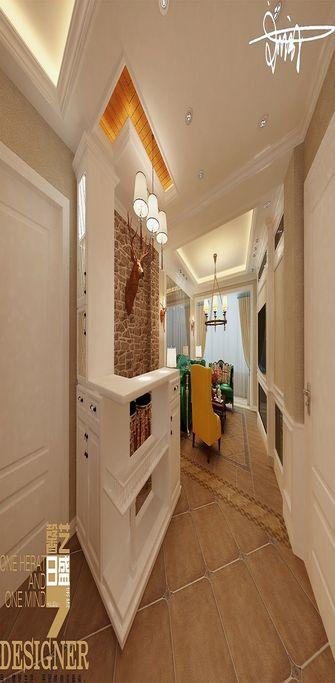 90平米三室两厅田园风格走廊图片