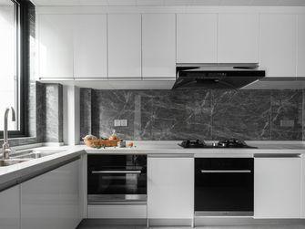 130平米三室一厅现代简约风格厨房图
