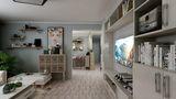 70平米欧式风格客厅装修案例