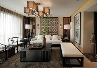 120平米一室两厅中式风格客厅装修案例
