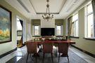 140平米别墅英伦风格书房图片