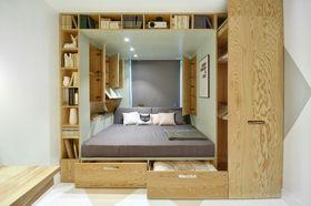 30平米超小戶型北歐風格臥室圖片