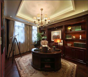 20万以上140平米四室三厅新古典风格书房图