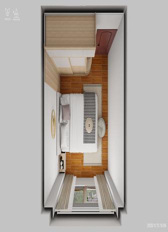 110平米三室两厅北欧风格阳光房装修图片大全
