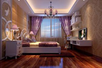 豪华型140平米别墅英伦风格儿童房图片大全