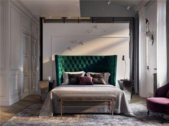 100平米三室一厅现代简约风格卧室图片