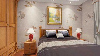 50平米一居室中式风格卧室欣赏图
