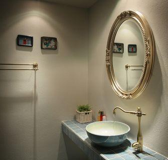 110平米三室一厅地中海风格卫生间设计图