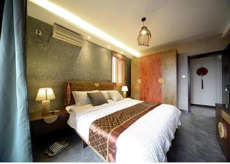 90平米三室一厅东南亚风格卧室效果图