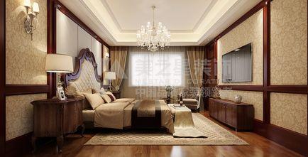 20万以上140平米别墅欧式风格卧室飘窗装修效果图