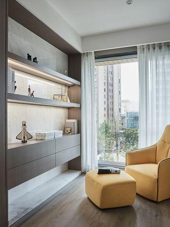 90平米三室两厅混搭风格书房图