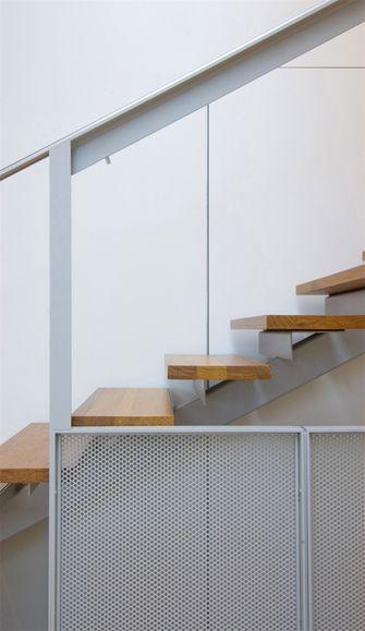 140平米复式宜家风格楼梯间图片