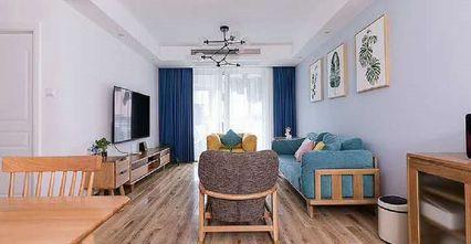 80平米宜家风格客厅装修效果图