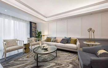 130平米三室两厅美式风格客厅图