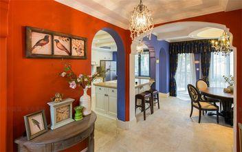 140平米别墅美式风格客厅背景墙欣赏图