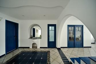 70平米复式地中海风格玄关图