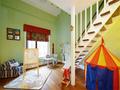 15-20万140平米三室两厅欧式风格楼梯图