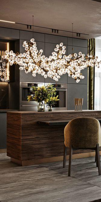 140平米三室一厅宜家风格餐厅图片大全